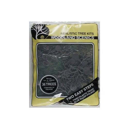 Woodland Scenics Tr1101 Tree Kit - 36 Small Trees
