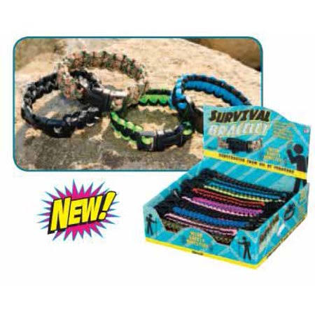 Toysmith Survival Bracelet with Whistle