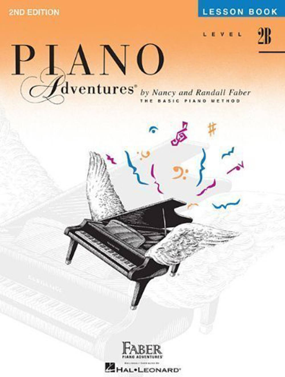 Piano Adventures: Level 2B Lesson Book - Nancy And Randall Faber