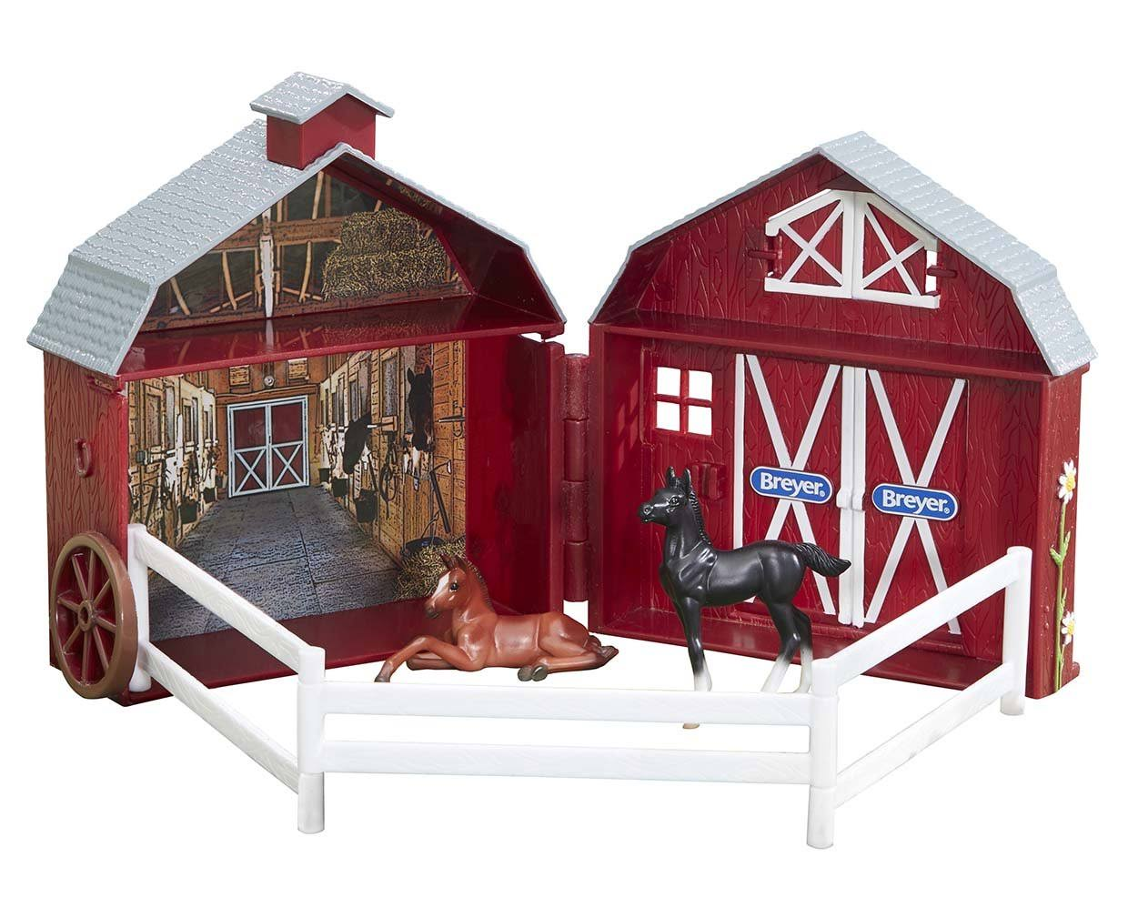 Breyer Stablemates Model Horse Play Set - 1/32 Scale