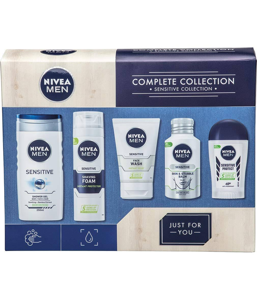 Nivea Men Complete Sensitive Collection Set
