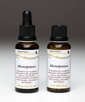 Newton Homeopathics Menopause