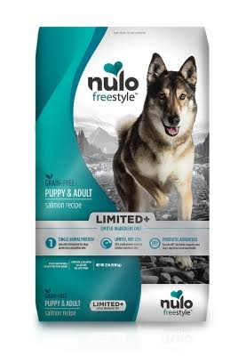 Nulo Freestyle Limited Ingredient Grain Free Dry Dog Food, Salmon / 22 lb