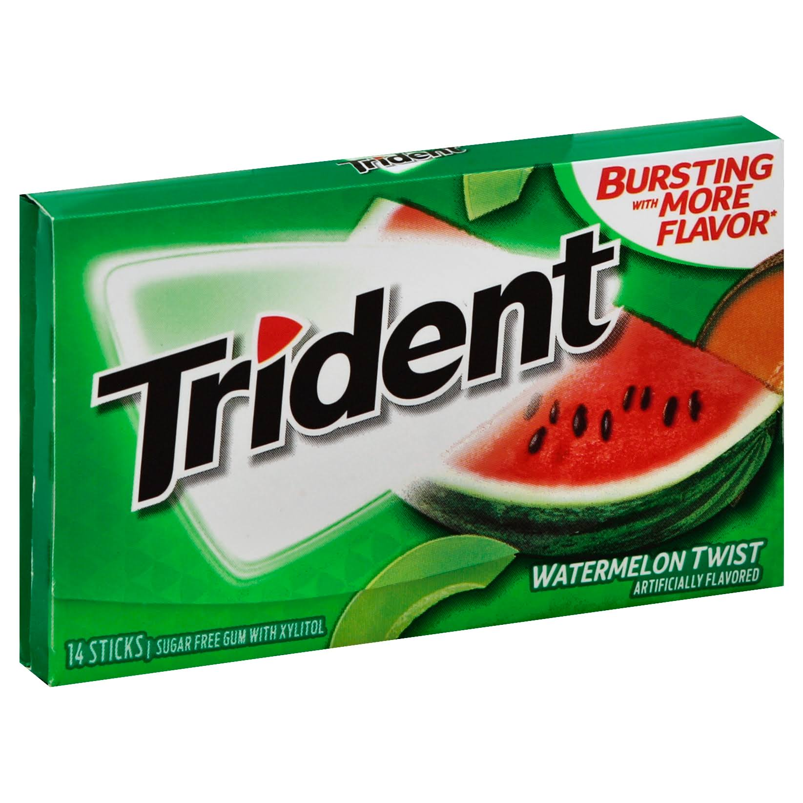 Trident Sugar Free Gum - Watermelon Twist