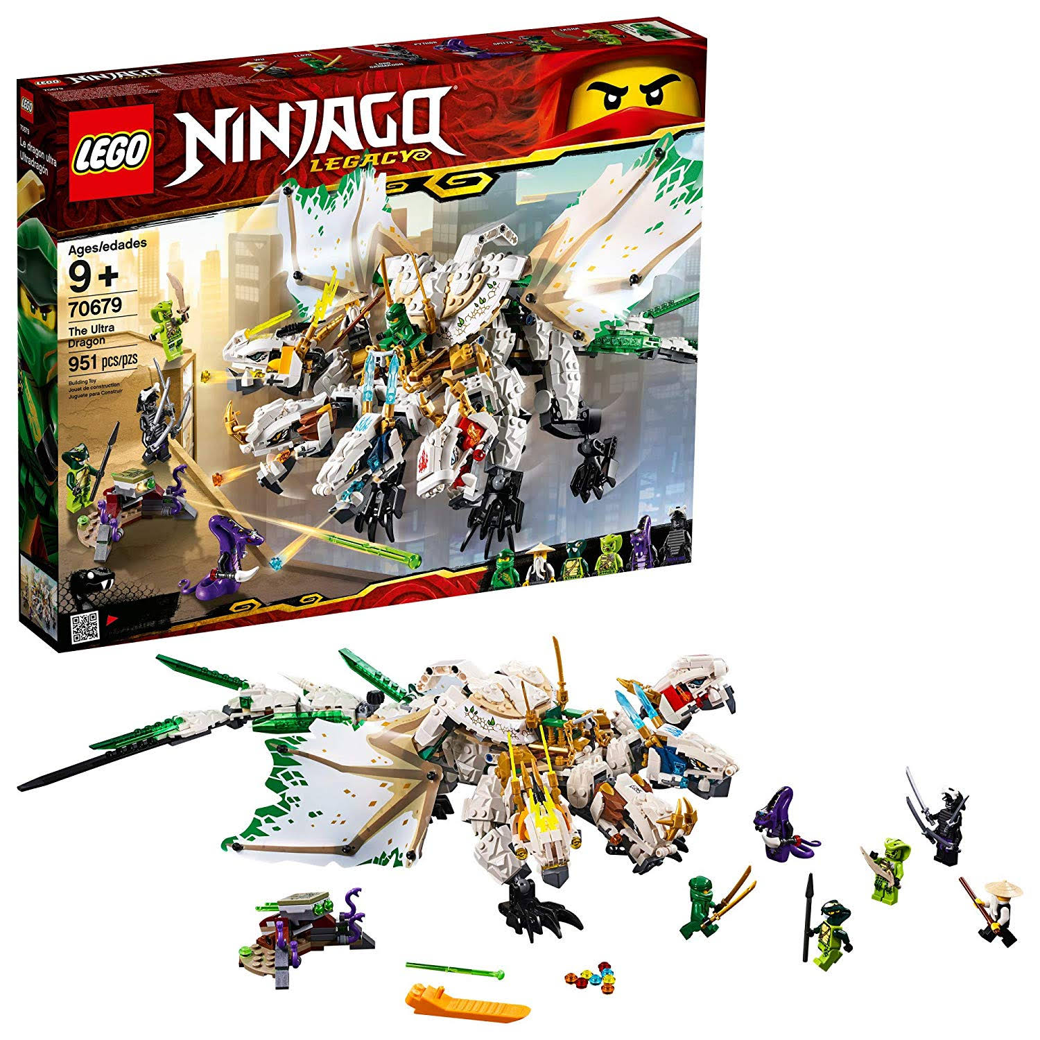 Lego 70679 Ninjago The Ultra Dragon