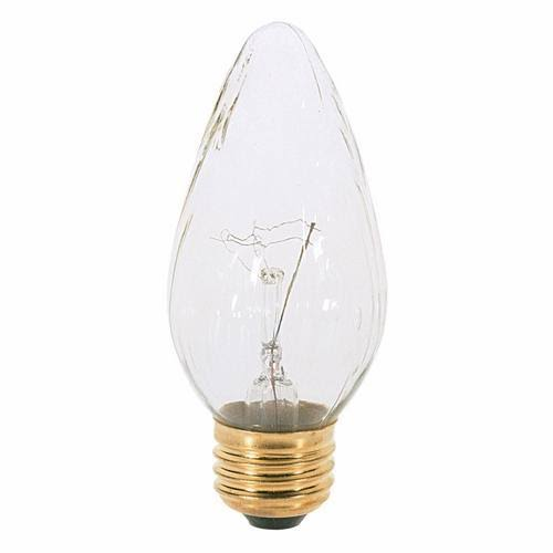 Satco F15 Light Bulb - 120V, Medium Base, 25W