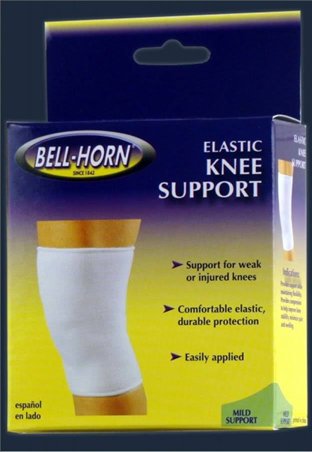 Bell Horn Elastic Knee Support Mild - Large, Beige