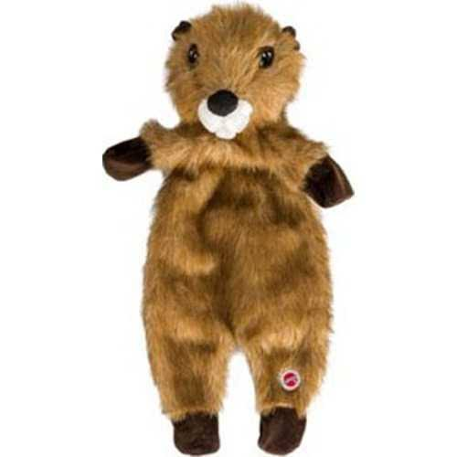 Ethical Dog - Plush Furzz Beaver - Brown 20in