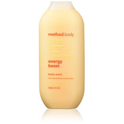 Method Energy Boost Body Wash - 18oz