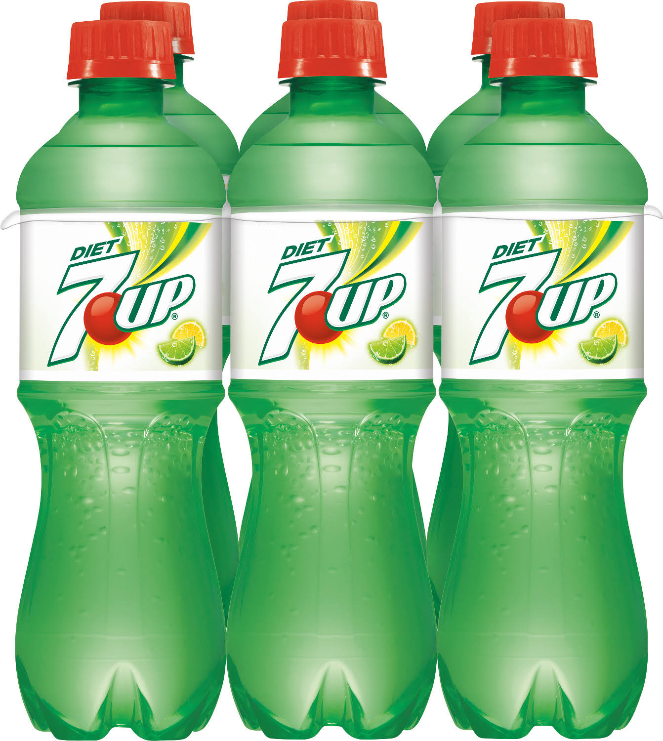 Diet 7UP - 16.9 fl oz, 6 pack