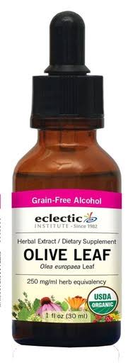 Eclectic Institute Olive Leaf Extract - 1 oz - Liquid