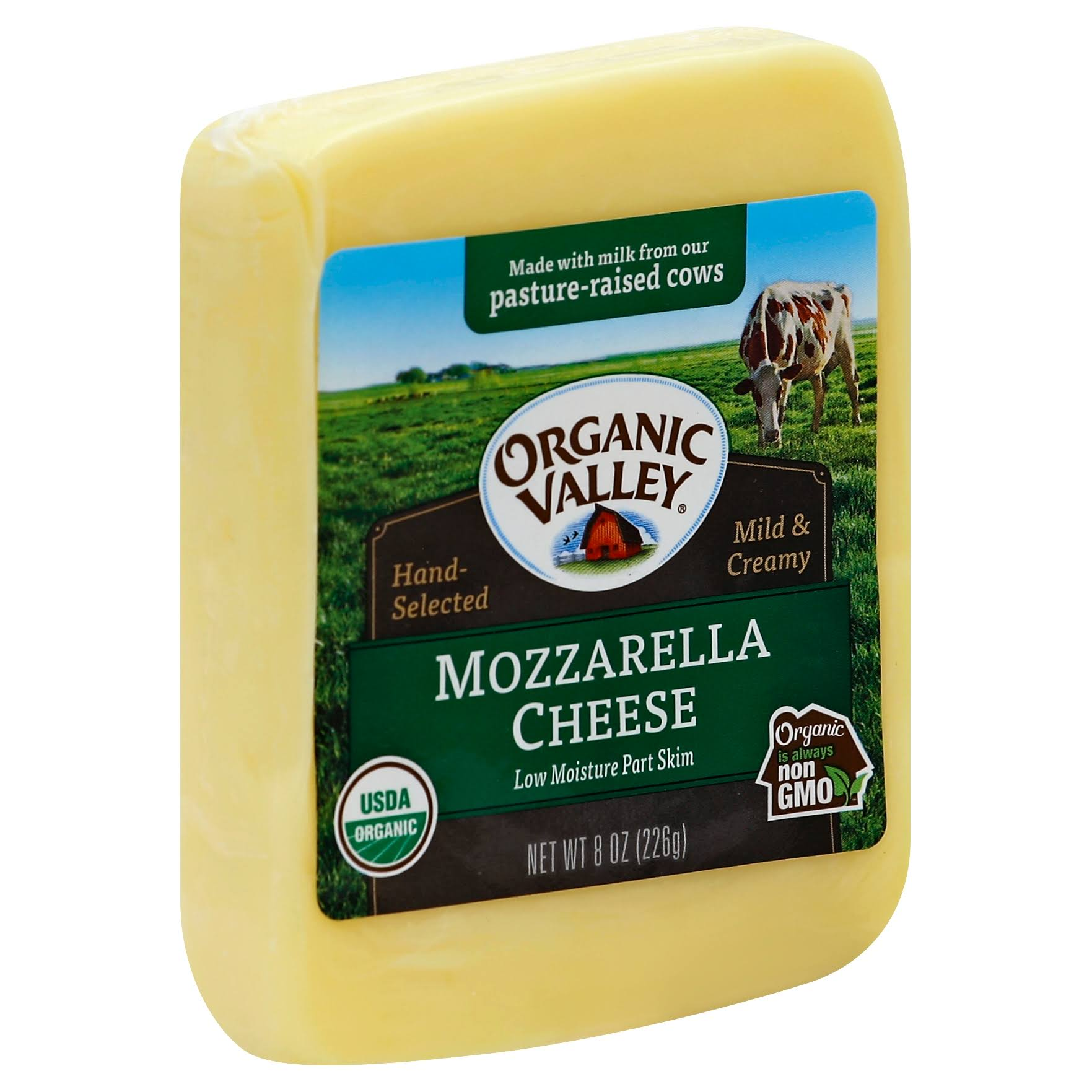 Organic Valley Cheese - Mozzarella