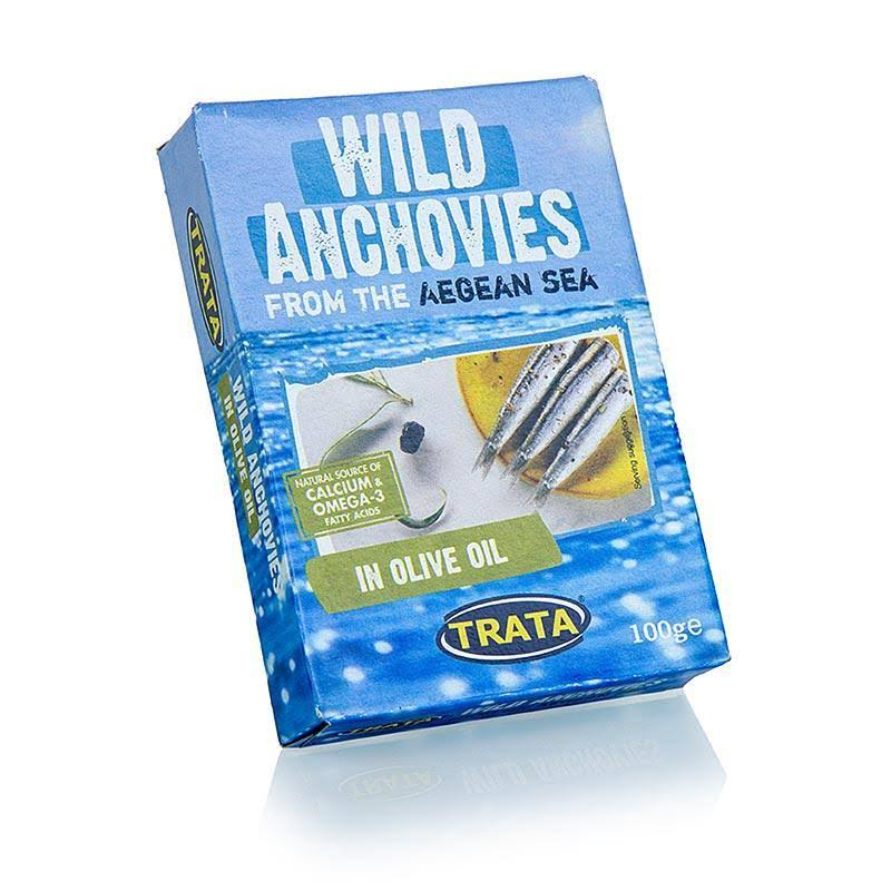 Trata Wild Caught Aegean Sea Anchovies - 100g