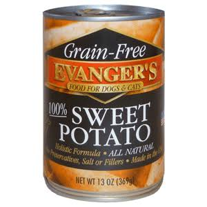 Evanger's Grain-Free Food for Dogs and Cats - Sweet Potato, 13oz