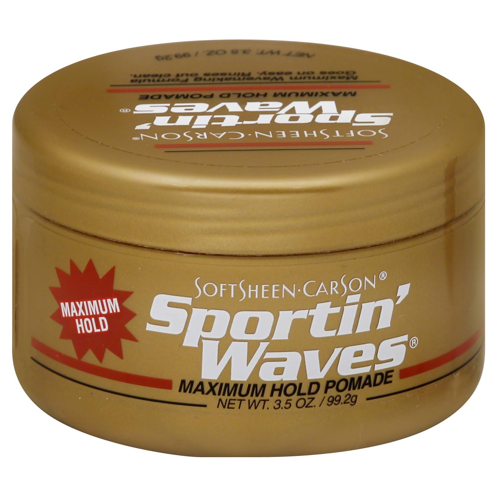 SoftSheen-Carson Sportin Waves Maximum Hold Pomade - 3.5oz