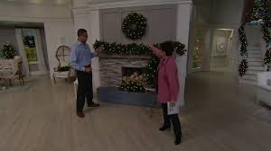 Bethlehem Lights Christmas Trees Qvc by Bethlehem Lights Prelit Mixed Greens Holiday Collection On Qvc