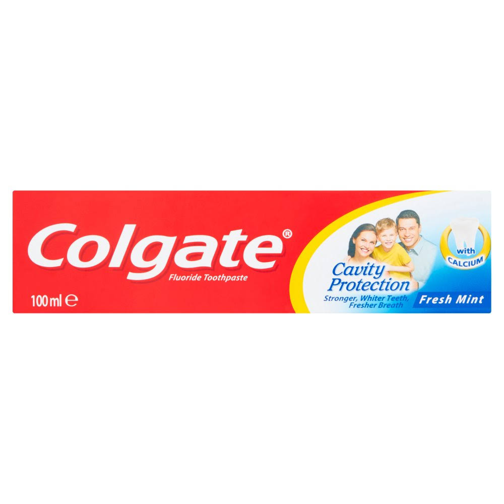 Colgate Cavity Protection Fresh Mint Toothpaste - 100ml