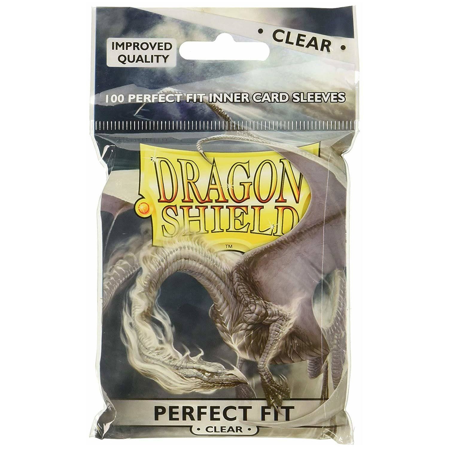 Dragon Shield Inner Card Sleeves - Clear, x100