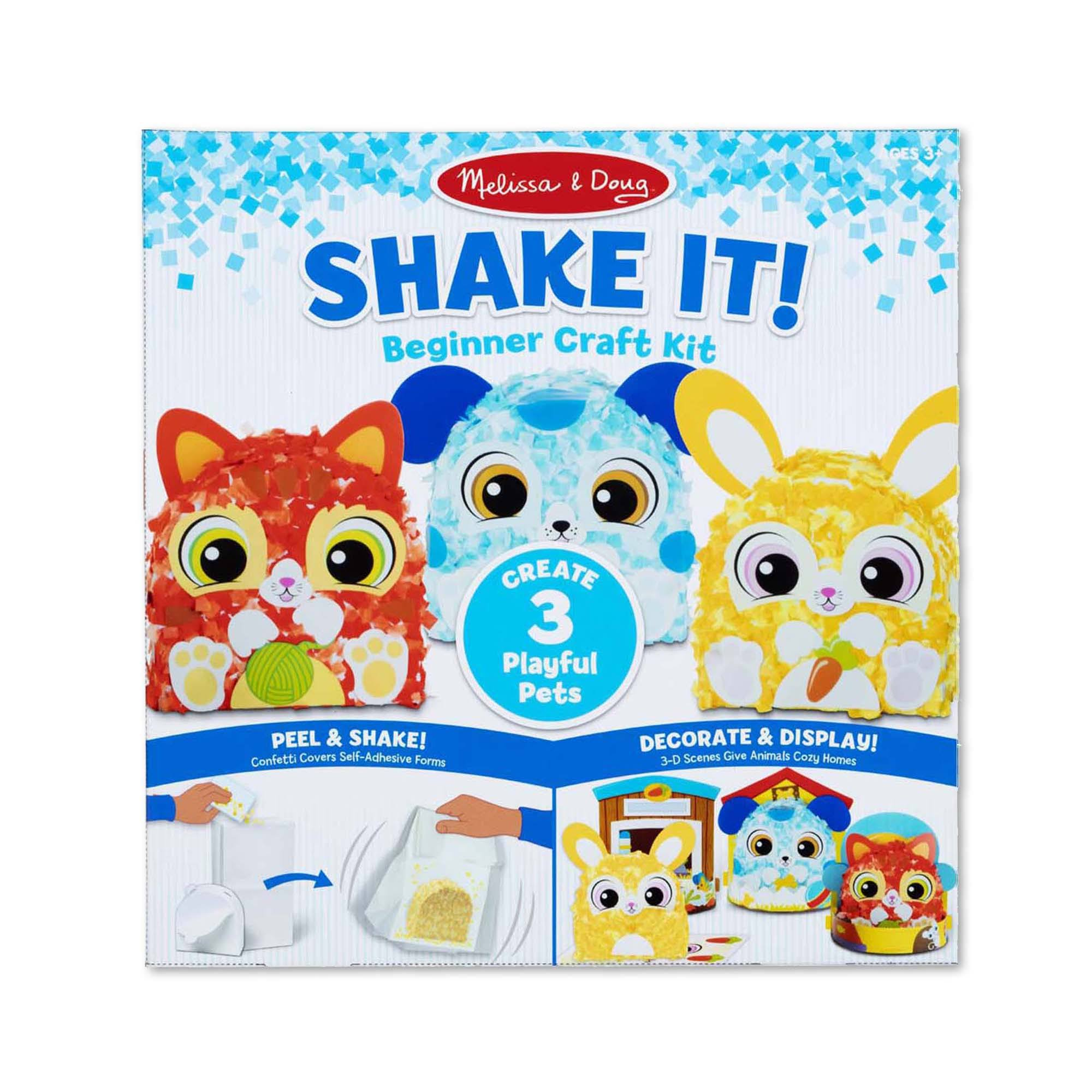 Melissa & Doug - Shake It! Deluxe Pets Beginner Craft Kit