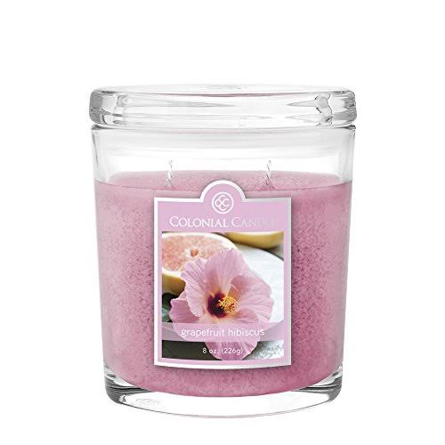 Colonial Candles Candle - Grapefruit Hibiscus, 226g
