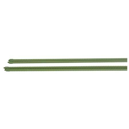 Panacea Plastic Coated Metal Plant Stake - Green, 2'