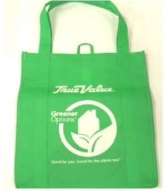 1 Bag at a Time 0101-3507 Green Shopping Bag