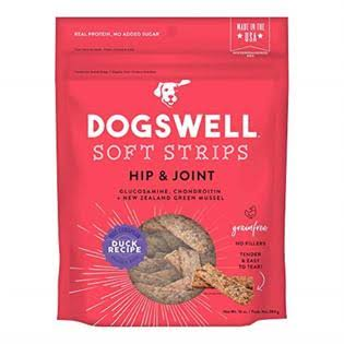 Dogswell Soft Strips Hip & Joint Dog Treats - Duck - 10 oz