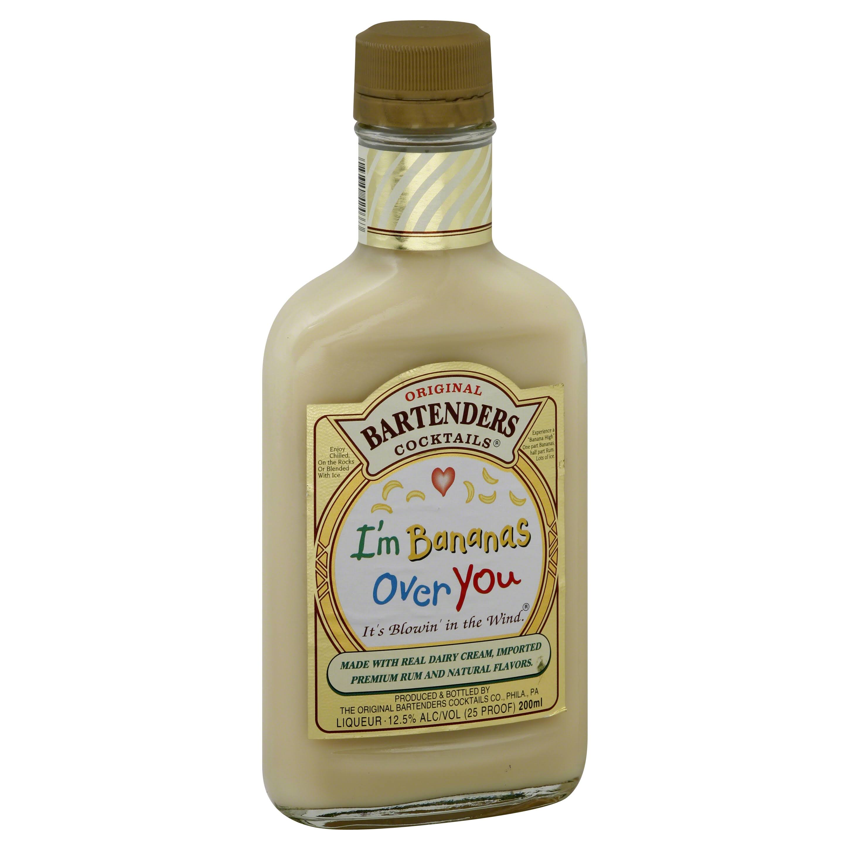Bartenders Rum, I'm Bananas Over You - 200 ml