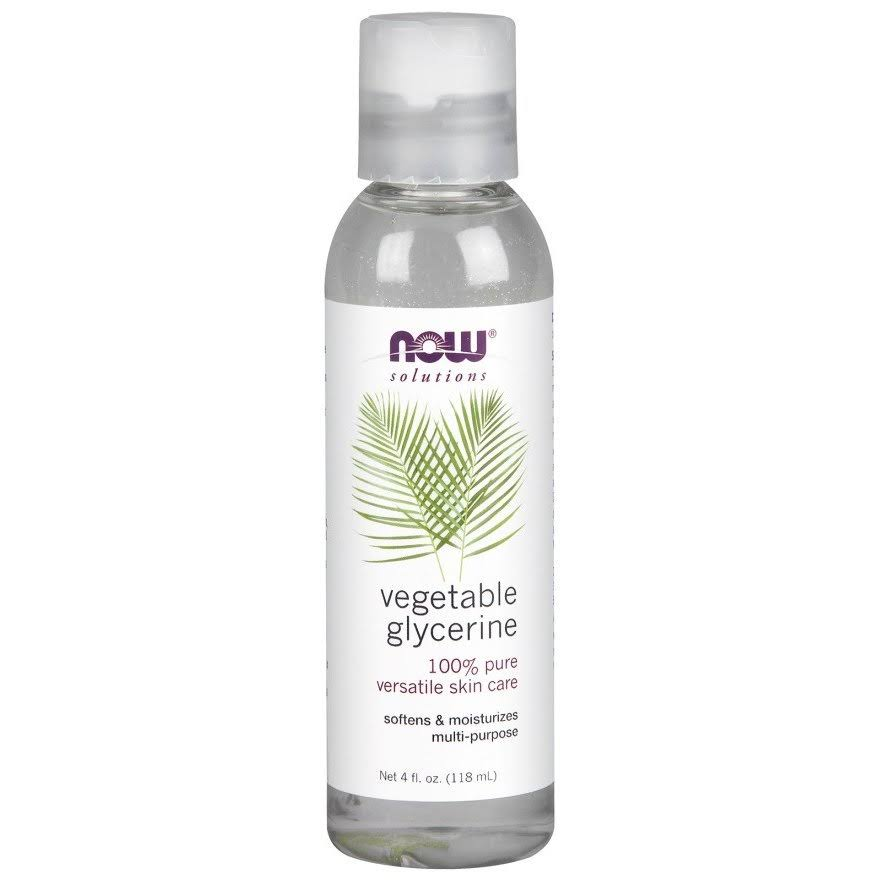 NOW Foods Vegetable Glycerine - 4 fl oz