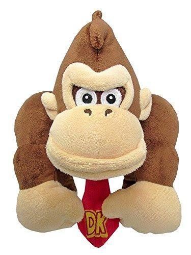 Super Mario All Star Collection Donkey Kong Plush Toy - 10""
