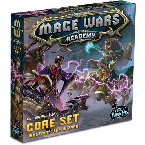 Arcane Wonders Mage Wars Academy Board Game