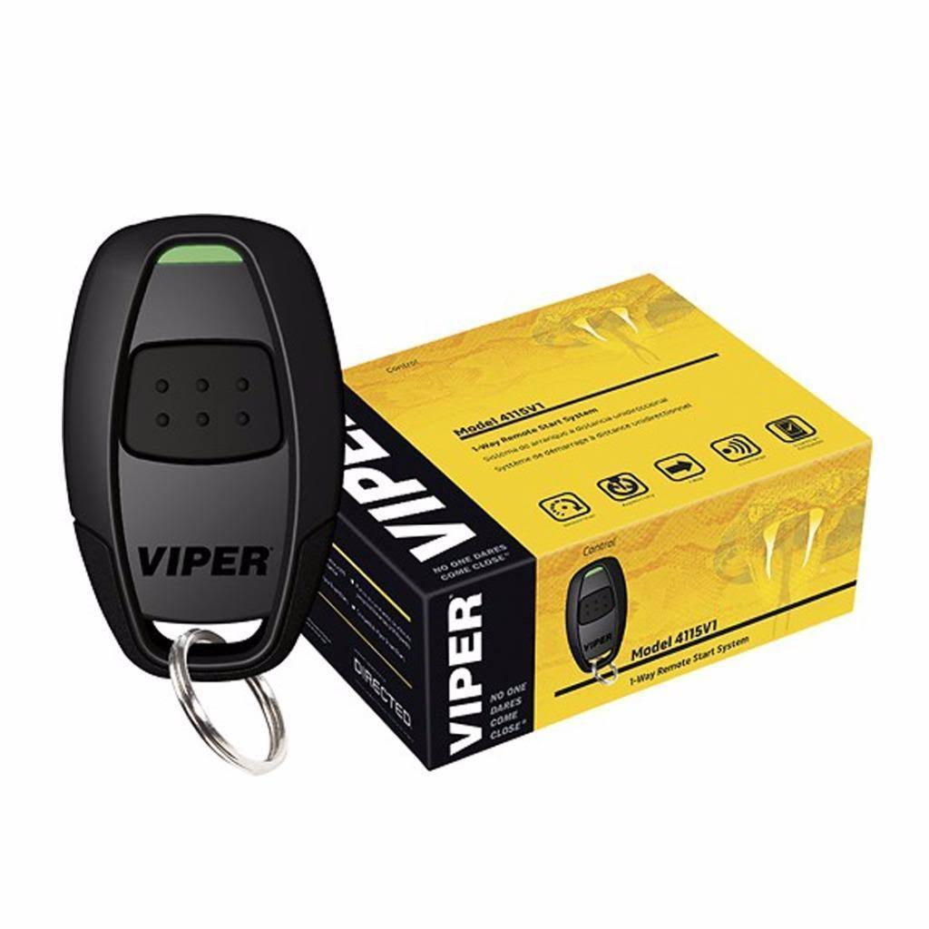 Viper 1 Way Remote Start System Avital Dei