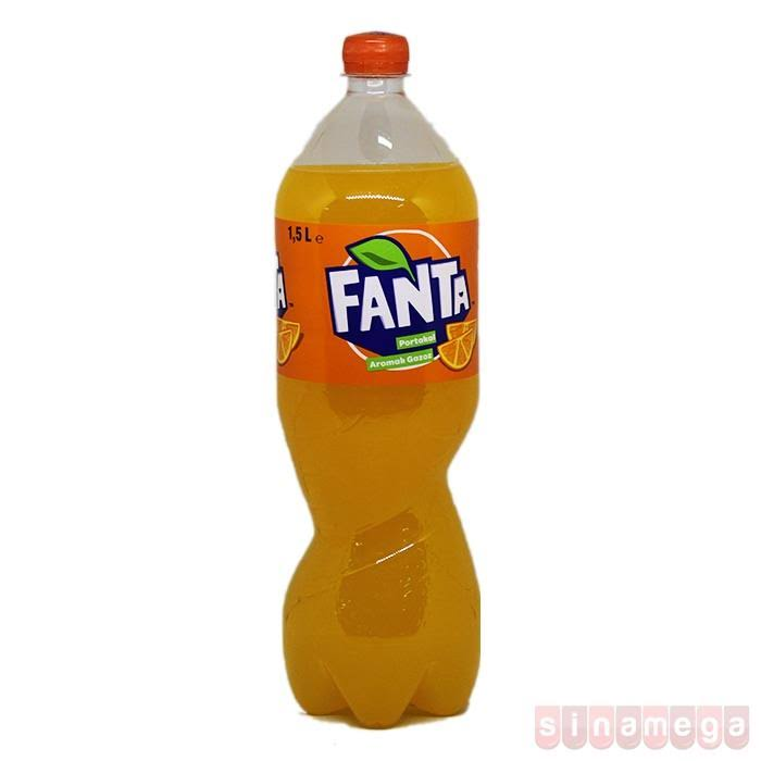 Fanta Carbonated Soft Drink - Orange, 1.75L