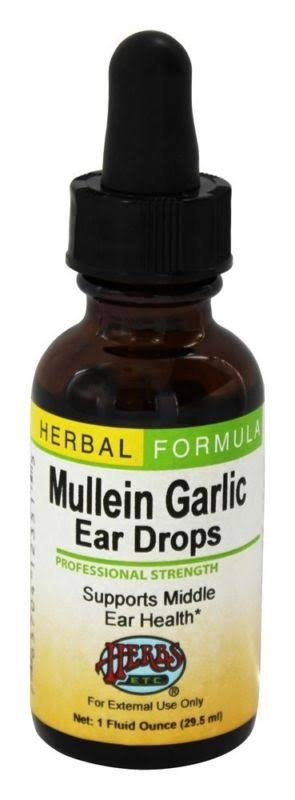 Mullein Garlic Ear Drops - 30ml