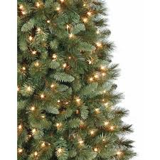 Lifelike Artificial Christmas Trees Canada by Artificial Christmas Tree Pre Lit 7 U0027 Scottsdale Pine Clear Lights