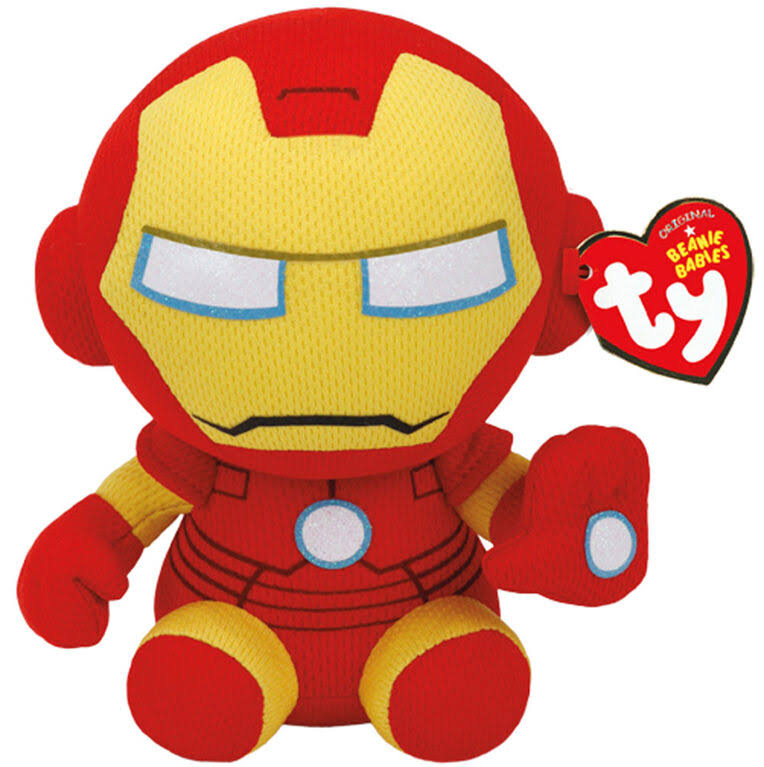 Ty Iron Man Plush Toy - 6""