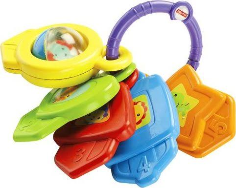 Mattel Fisher-Price Shapes and Colours Keys