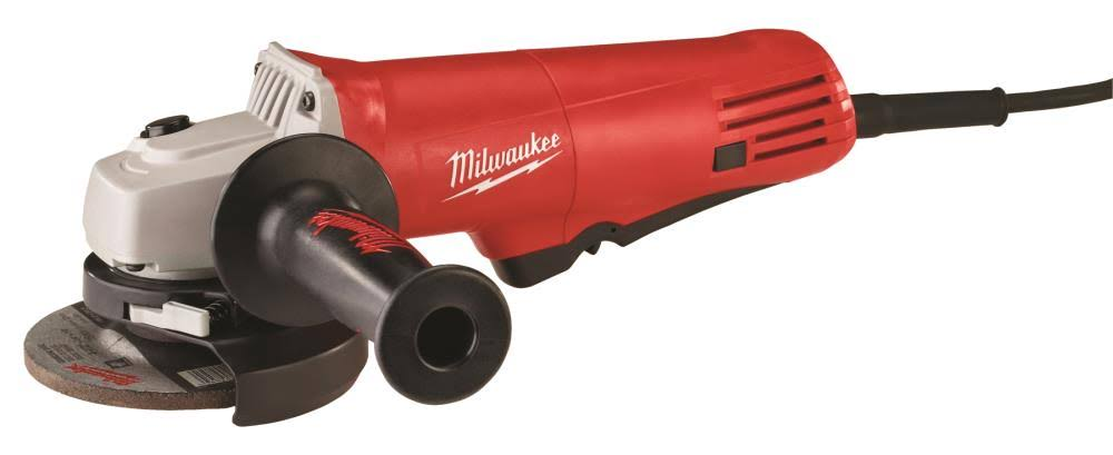 Milwaukee Small Angle Grinder with Lock-On Paddle Switch - 7.5 Amp, 4.5""