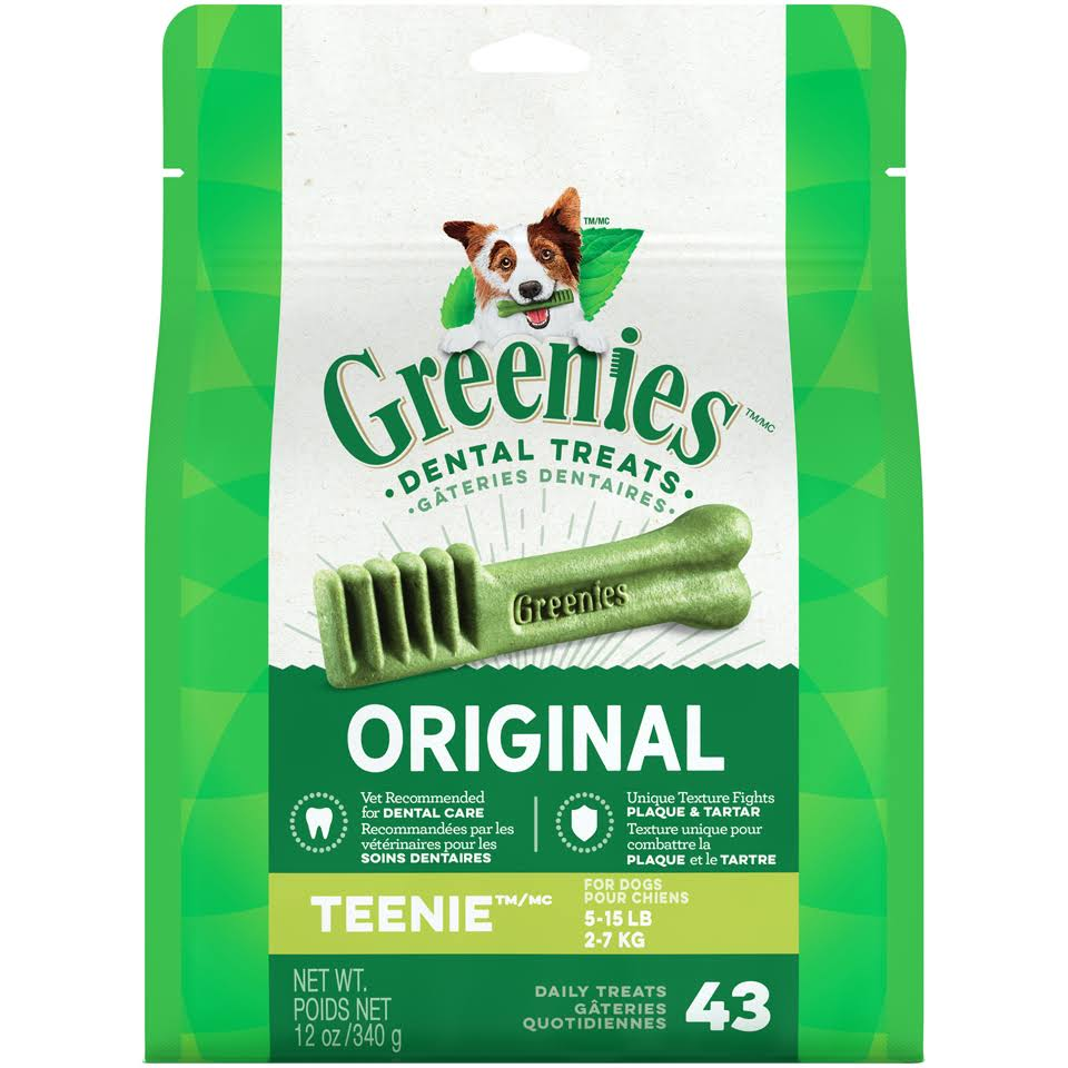 Greenies Original Dental Dog Treats - 43 pack
