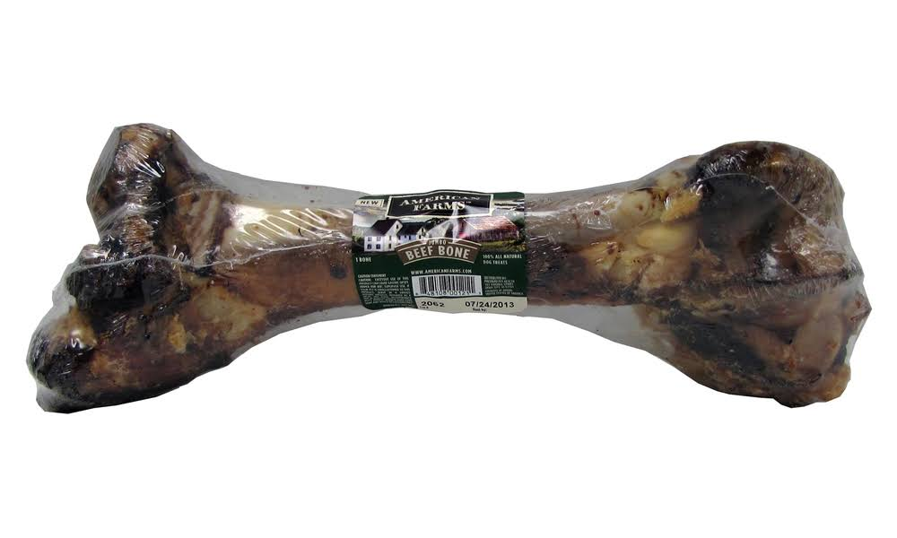 Boss Pet Products 07505 Beef Mammoth Dog Bone - 41cm to 46cm