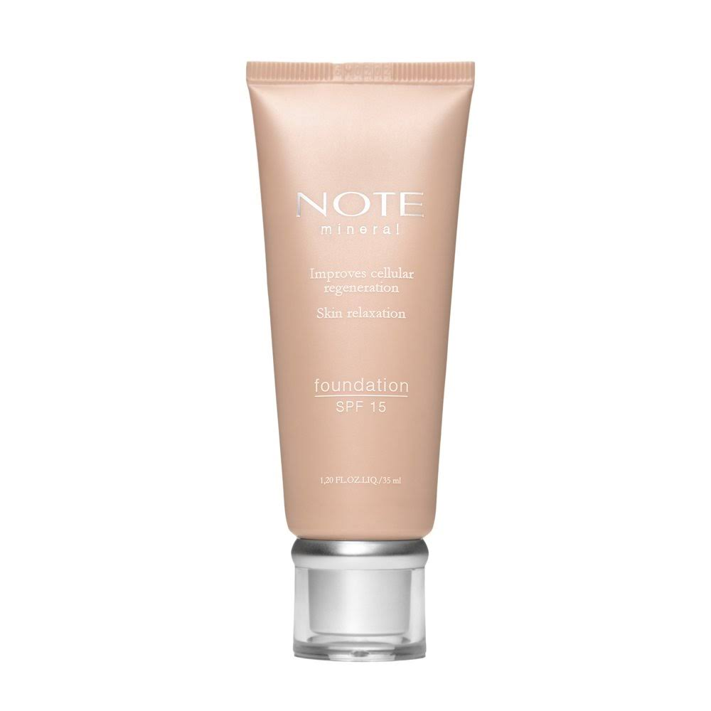 Note Mineral Foundation - SPF15, 35ml