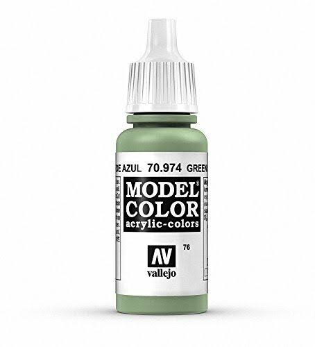 Vallejo Model Color Acrylic Paint - 17ml, Green Sky