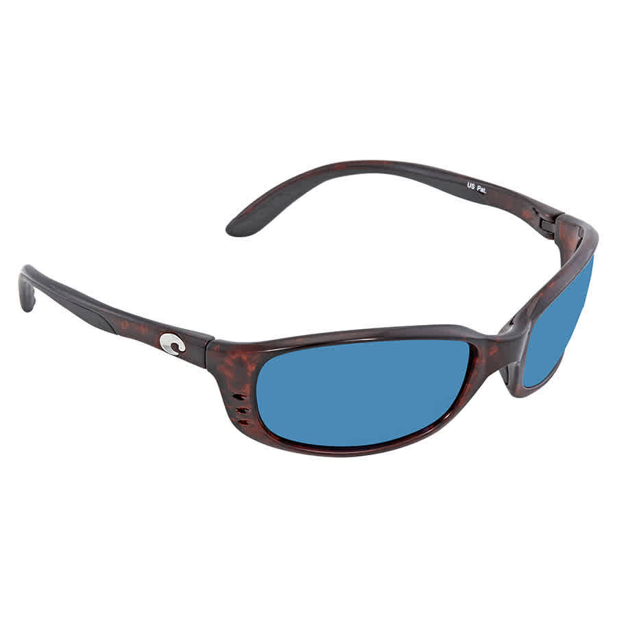 Costa Del Mar Brine C-Mate Sunglasses - Tortoise Frame, Blue Mirror