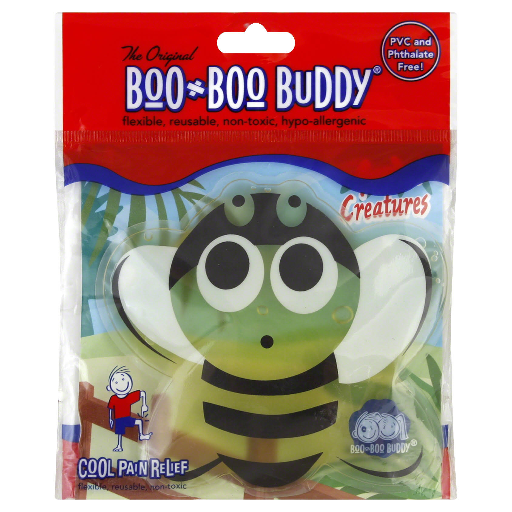 Boo Boo Buddy Cold Pack, Garden Creatures, Bee