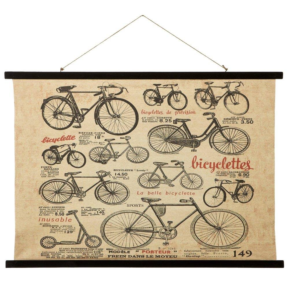 Ganz Wall Art - Bicycle Rolled Canvas Wall Art