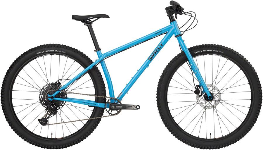 "Surly Krampus Bike - 29"", Steel, Tangled Up in Blue, Medium"