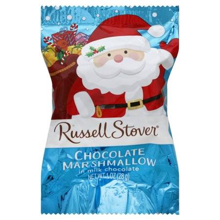 Russell Stover Chocolate Marshmallow, Covered in Milk Chocolate