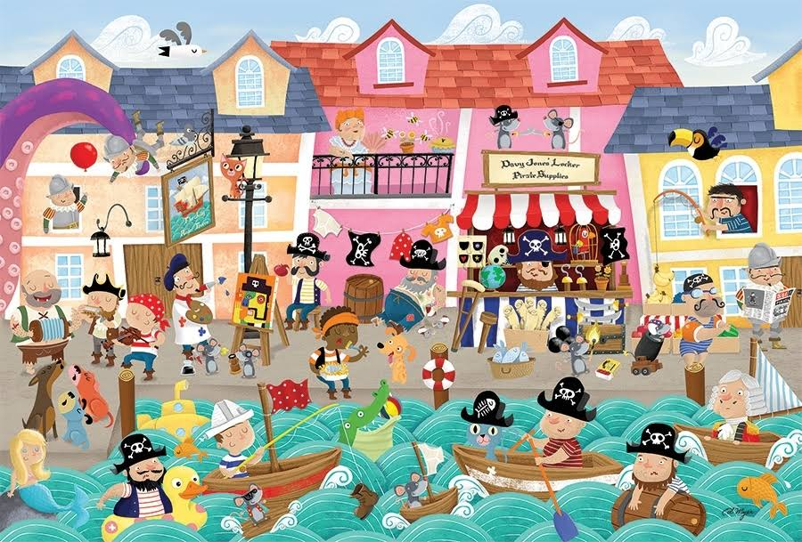 Cobble Hill 35pc Tray Puzzle A Pirate's Life