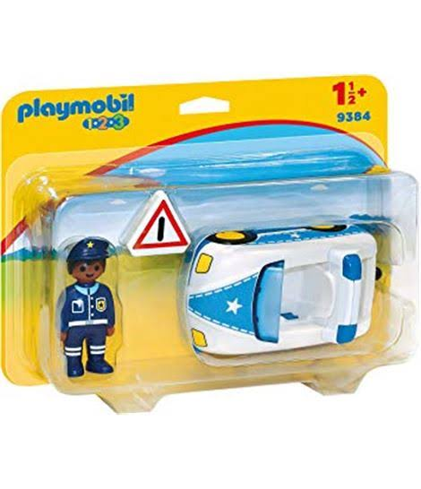 Playmobil 9384 Police Car Figure - 13cm x 6cm x 6cm