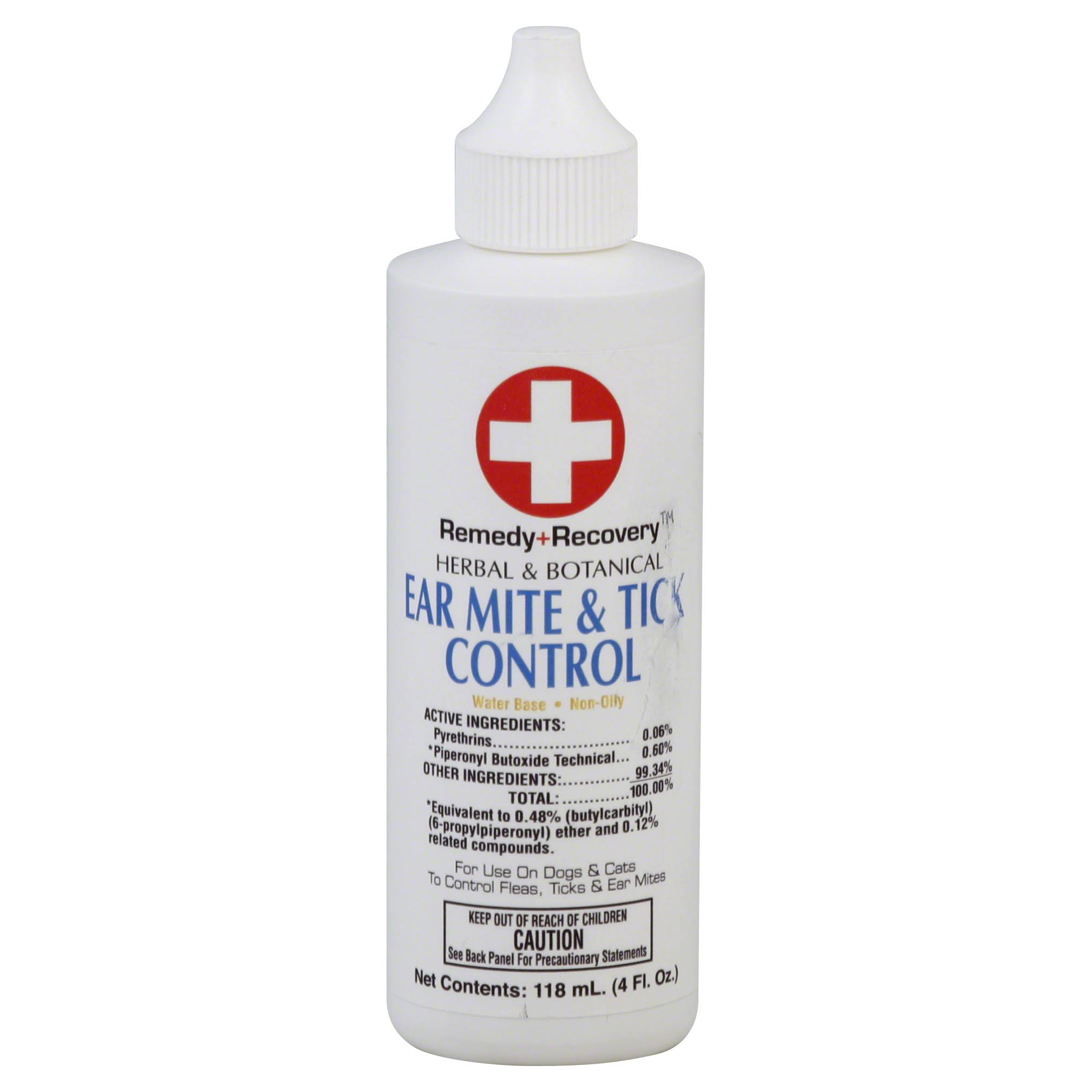 Remedy Recovery Gold Medal Dog and Cat Ear Mite and Tick Control - 4oz